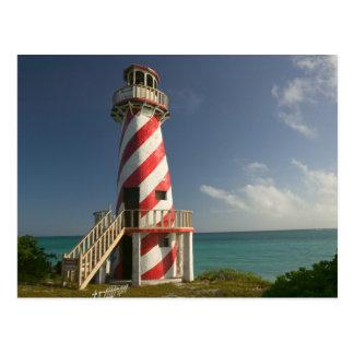 BAHAMAS, großartige Bahama Insel, Ostseite: Stadt Postkarte