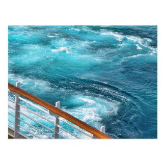 Bahamas-Kreuzfahrt - Türkis wecken Postkarte