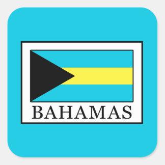 Bahamas Quadratischer Aufkleber