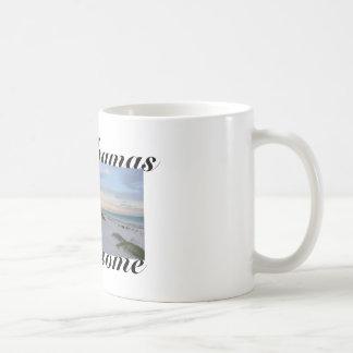 Bahamas-Strand-Zitat-Kaffee-Tasse Kaffeetasse