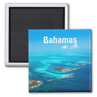 Bahamas von der Luft Quadratischer Magnet