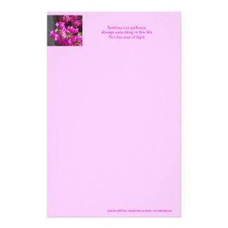 Bahnhaiku-Briefpapier Briefpapier
