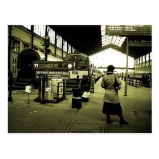 Bahnhof Budapest Postkarte
