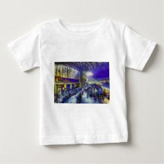 Bahnhofs-London-Kunst König-Cross Baby T-shirt