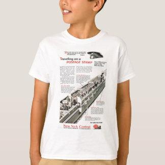 Bahnpost auf der zentralen Eisenbahn 1943 New York T-Shirt