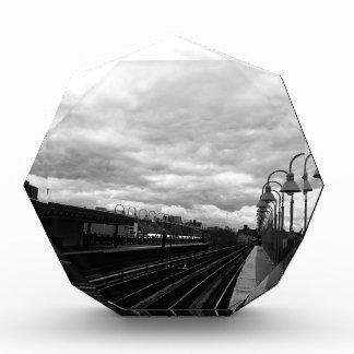 Bahnstation Auszeichnung