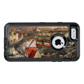 Bahnstation - Wuppertal-Suspendierungs-Eisenbahn OtterBox iPhone 6/6s Hülle