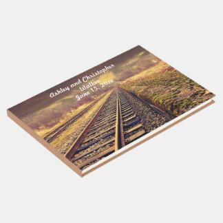 Bahnstrecken, die Guestbook Wedding sind Gästebuch