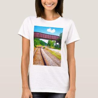 Bahnstrecken und Tressel T-Shirt