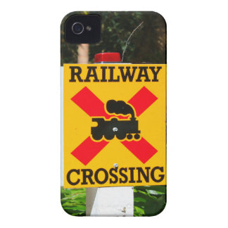 Bahnübergang Zeichen iPhone 4 Cover