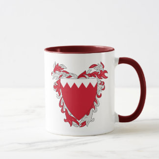 Bahrain-Emblem Tasse