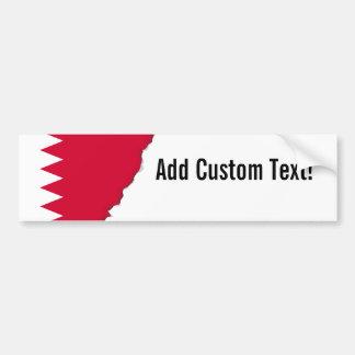 Bahrain-Flagge Autoaufkleber