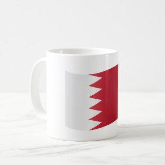 Bahrain-Flagge Kaffeetasse