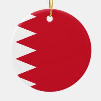 Bahrain-Flagge Keramik Ornament