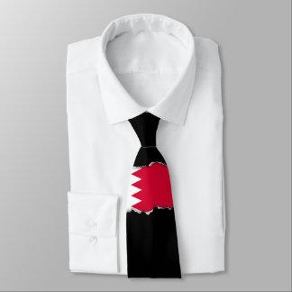 Bahrain-Flagge Krawatte