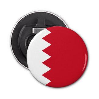 Bahrain-Flagge Runder Flaschenöffner