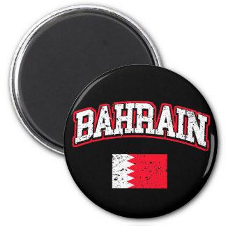 Bahrain-Flagge Runder Magnet 5,7 Cm