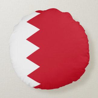 Bahrain-Flagge Rundes Kissen