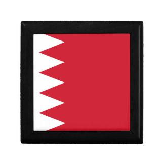 Bahrain-Flagge Schmuckschachtel