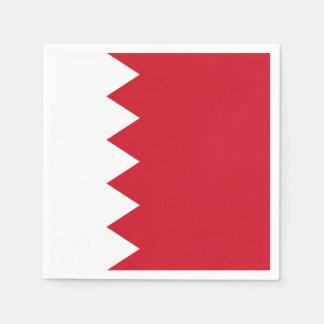 Bahrain-Flagge Serviette