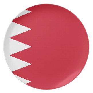 Bahrain-Flagge Teller