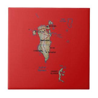 Bahrain-Karten-Fliese Fliese