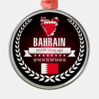 Bahrain Silbernes Ornament