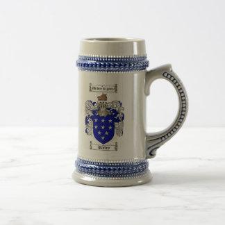 Bailey-Wappen Stein/Bailey-Familienwappen Bierkrug