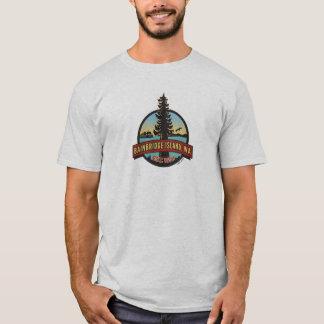 Bainbridge Insel-Kreis-Flecken T-Shirt