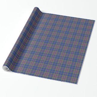 Bairdtartan-kariertes Verpackungs-Papier Geschenkpapier