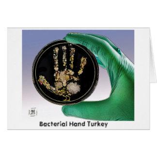 Bakterielle die Handtürkei-Gruß-Karte Karte