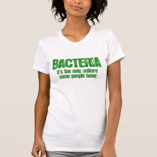 Bakterien. Es ist die einzige Kultur einige Leute Hemden