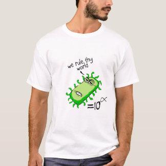 Bakterien ordnen Thy Welt an T-Shirt