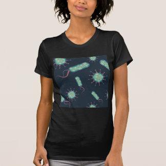 Bakterien unter Mikroskop T-Shirt