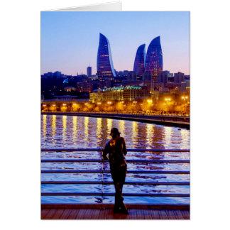 Baku-Pier Karte