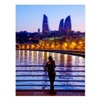 Baku-Pier Postkarte