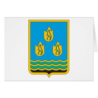 Baku-Wappen Karte
