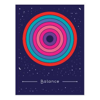 Balance Postkarte