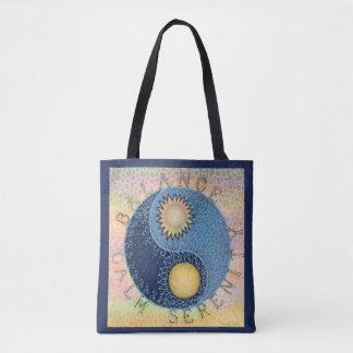 Balance, Ruhe, Serenity-Taschen-Tasche Tasche