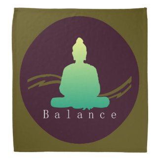 """""""Balance"""" schöner Buddha Kopftuch"""