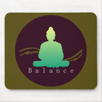 """Balance"" schöner Buddha Mousepad"