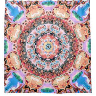 Balance von Pastellformen Duschvorhang
