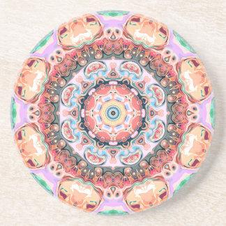 Balance von Pastellformen Sandstein Untersetzer