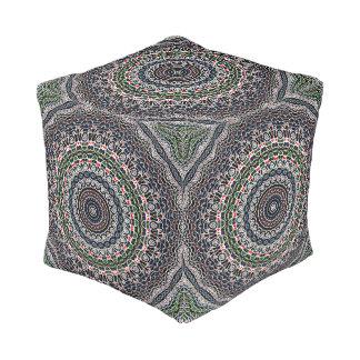 Balancen-Mandala Kubus Sitzpuff