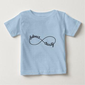 Balancen-und Klarheits-Unendlichkeits-Symbol Baby T-shirt