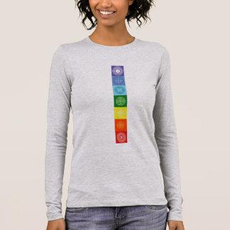 Balancieren Sie Ihr Chakras, balancieren Sie Ihren Langarm T-Shirt