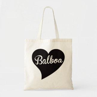 Balboa-große Herz-Jade Tragetasche