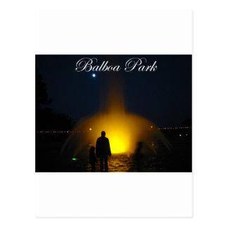 Balboa-Park 2 Postkarte