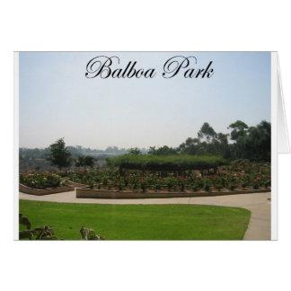 Balboa-Park 4 Karte