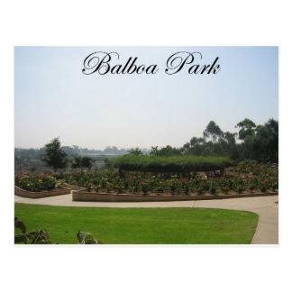 Balboa-Park 4 Postkarte